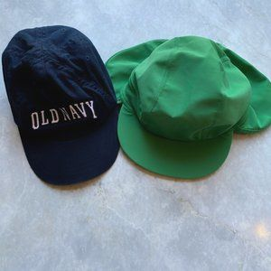 Hanna Andersson Out of the Sun Hat & Old Navy Hat